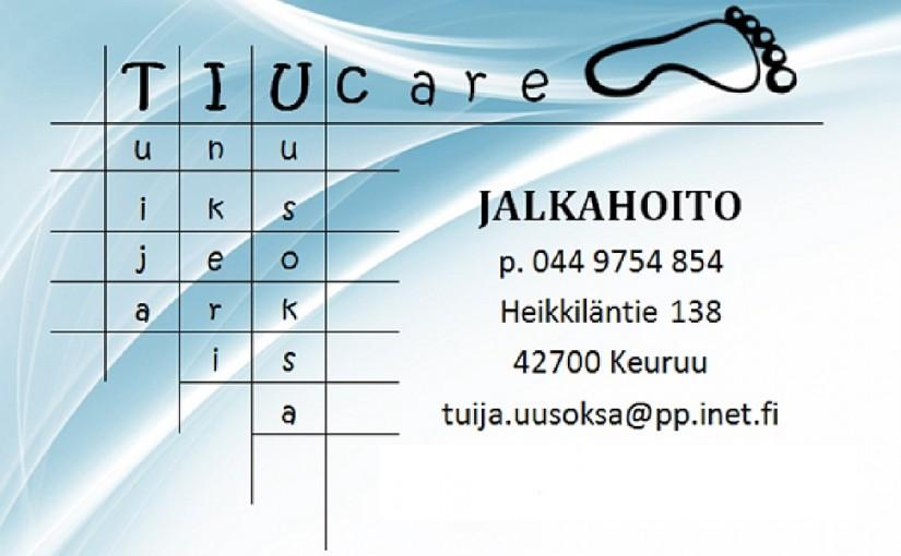 TIUcare JALKAHOITO